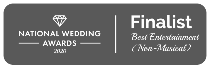 national wedding awards nomination best non-musical entertainment